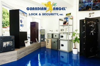 Safe Showroom 13610 Ventura Blvd. Sherman Oaks, CA 91423 Guardian Angel Locksmith Safe Showroom (Storefront)