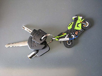 motorcycle keys