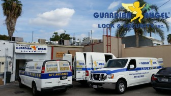 Guardian Angel Locksmith Storefront Shop and Mobile Vans